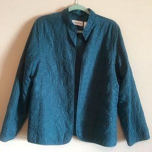 Alfred Dunner Jacket Sz 16 Teal - NWOT